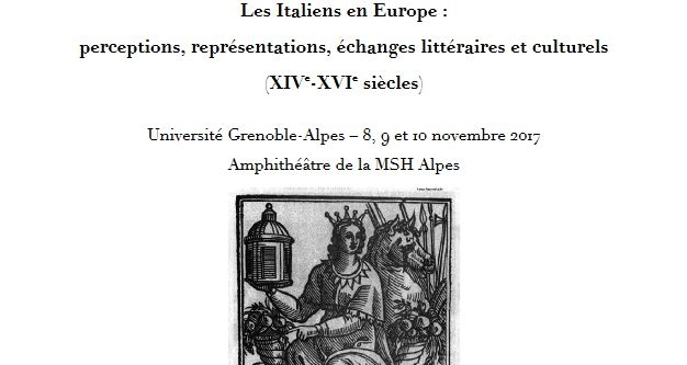 EDITEF au colloque international «Les Italiens en Europe (…)»